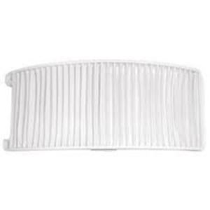 Air Filter - Compatible with Bissell Style 12 - HEPA Style Filter Parts for PowerForce Bagless Models 6594, 6594F - Pair with Part #203-1402 and 203-8037