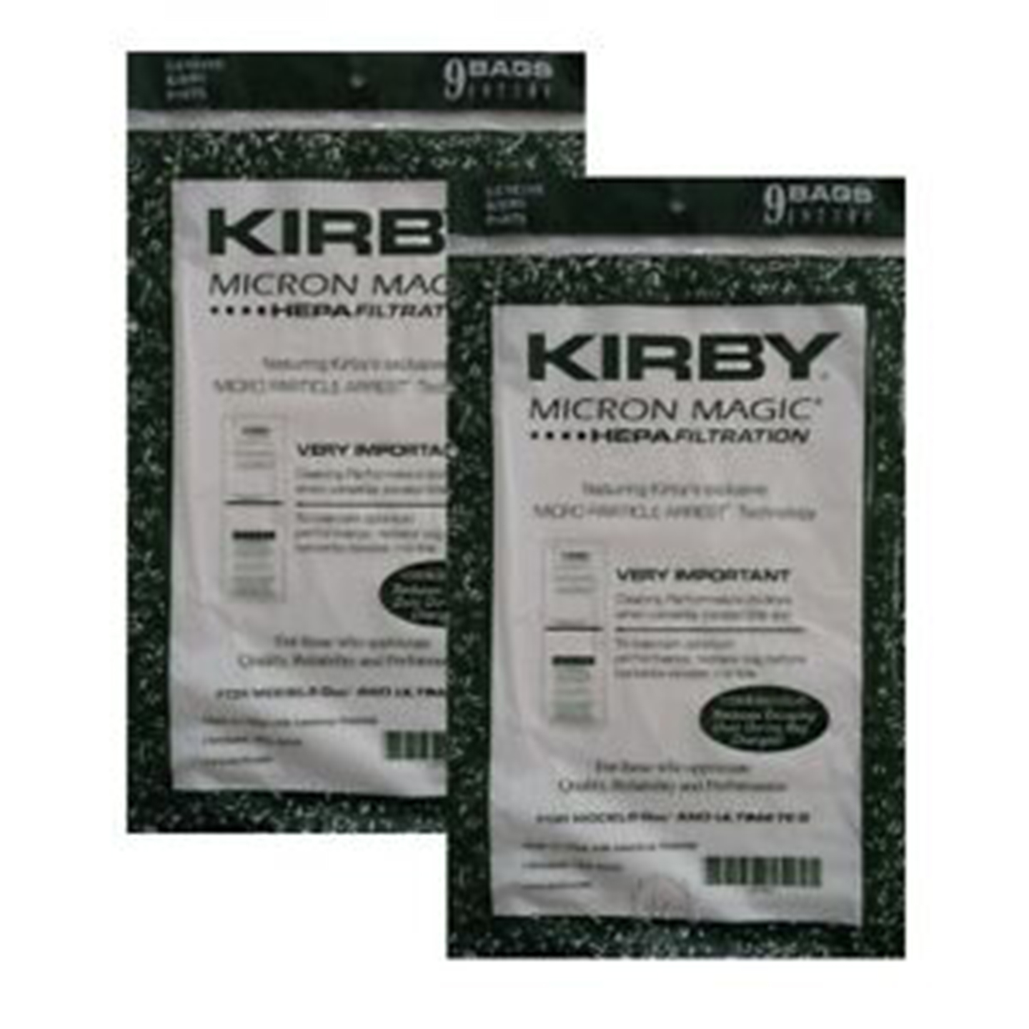 Replacement filter for Kirby 197301